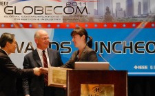 Maria Gorlatova, Prof. Zussman, and Collaborators won the 2011 IEEE Communications Society Award for Advances in Communications