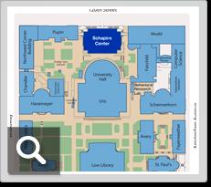 Columbia University Map