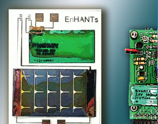 Energy Harvesting Active Networked Tags (EnHANTs)