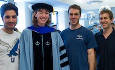 Maria Gorlatova awarded a Ph.D.