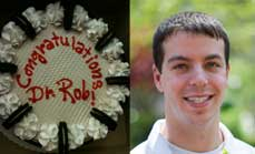 Robert Margolies defended his Ph.D. thesis