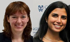 Dr. Maria Gorlatova and Dr. Aya Wallwater received the IEEE Communications Society Young Author Best Paper Award