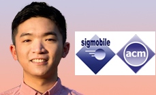 Tingjun Chen Wins First Place in the ACM MobiCom 2019 Student Research Competition (SRC)