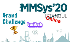 WiMNet team wins 3rd place in the ACM MMSys'20 Twitch Grand Challenge